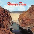 Hoover Dam - Neveda - Arizona Postcard (B484)