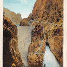 Shoshone Irrrigation Dam - Buffalo Bill Country Postcard (B491)