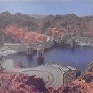 Upstream Face Of Hover Dam - Neveda - Arizona Postcard (B493)