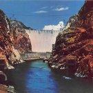 Hoover Dam - Neveda - Arizona Postcard (B495)