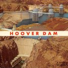 Hoover Dam - Neveda - Arizona Postcard (B508)