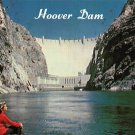 Hoover Dam - Neveda - Arizona Postcard (B509)