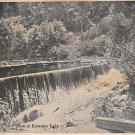 Dam at Kawana Lake Postcard 1903 (B514)
