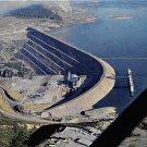Bennett Dam, B.C. Canada Postcard 1971 (B517)