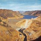 Anderson Ranch Dam Mountain Home Idaho Postcard 1989 (B524)