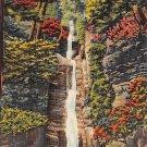 Pocono Mts, PA Postcard Silver Thread, Dingman's Ferry (A772) Penna, Pennsylvania