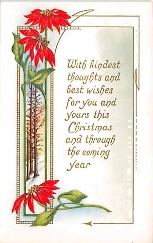 With Kindest Thoughts - Embossed (B532-533)