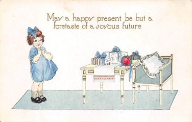 May a happy present be but a foretaste (B545)