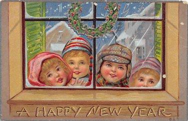 A Happy New Year 1910 (B547)