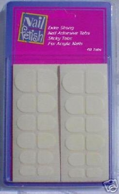 240 Cosmar Extra Strong Nail Adhesive Sticky Tabs USA