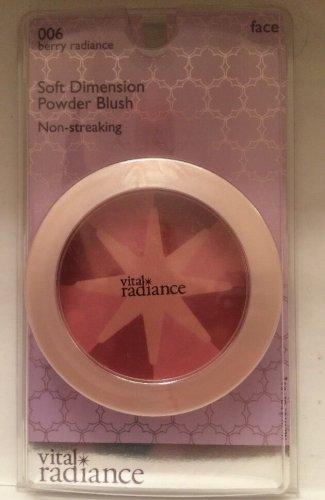 Revlon Vital Radiance Soft Dimension Powder Blush Berry Radiance 006