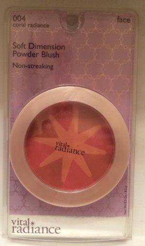 Revlon Vital Radiance Soft Dimension Powder Blush Coral Radiance 004