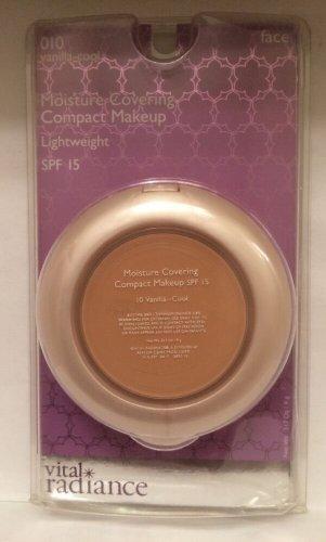 Vital Radiance Moisture Covering Compact Makeup 010 Vanilla Cool SPF 15