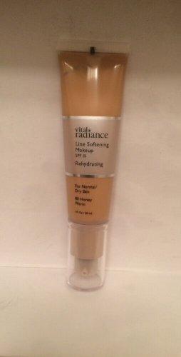 Vital Radiance Line Softening  Rehydrating Makeup Foundation 80 Honey Warm