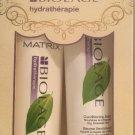 Matrix Biolage Hydratherapie Hydrating Shampoo 16.9  & Conditioning Balm 8.5 Oz