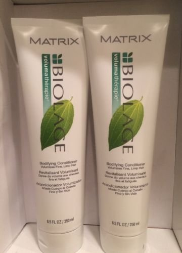 MATRIX BIOLAGE VOLUMATHERAPIE BODIFYING CONDITIONER Pack OF 2