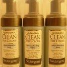 3 Neutrogena Clean For Colour Colour-Defending Foam  4 FL.OZ Each