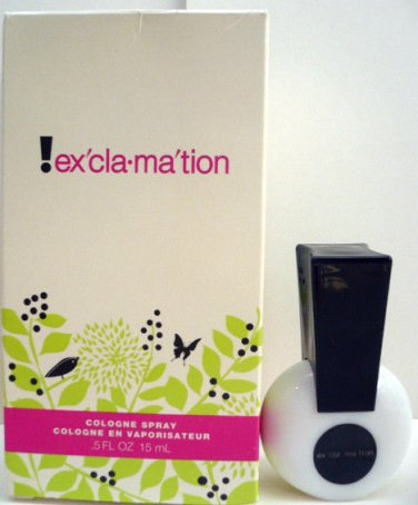 EXCLAMATION by Coty Cologne Spray .5 fl.oz for Women