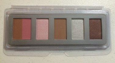 New Sugar Luxe Palette Blush Bronzer & 4 Eye Shadow & Make Up Bag