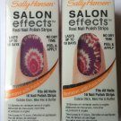 2 Sally Hansen Salon Effects Real Nail Polish Strips # 560 TIE-DYE FOR (TIE-DYE)