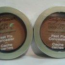 2 Sally Hansen Natural Beauty Fast Fix Concealer #1022-20 MEDIUM/DEEP