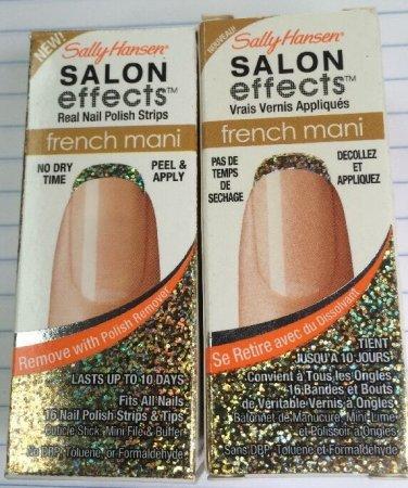 2 Sally Hansen Salon Effect French Mani 003 gold cabaret.