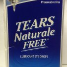 Alcon TEARS Naturale Free Lubricant Eye Drops 60 vials - Expires 7/2016