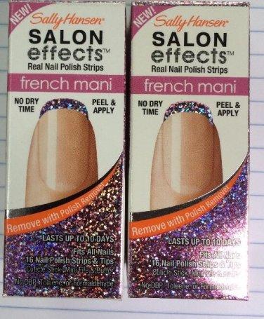 Sally Hansen Salon Effects French Mani Strips 001 Pink Macaroon