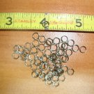 5mm Stainless Steel Split Rings. 100pc. Jewelry, Lures