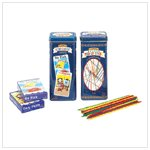 PICK UP STICKS AND CARD GAMES  Retail: $9.95