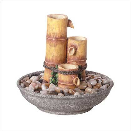 TRANQUILITY TABLETOP FOUNTAIN  Retail: $79.95