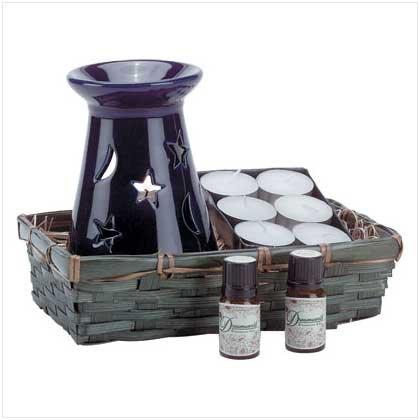 CELESTIAL OIL WARMER SET  Retail: $14.95