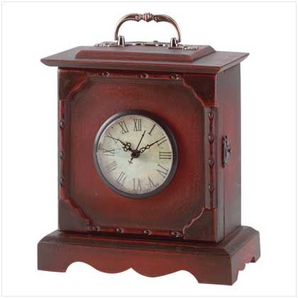TRAVEL CLOCK KEY CABINET  RETAIL; $19.95