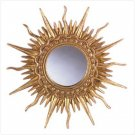 FANCY SUN WALL MIRROR  RETAIL: $29.95