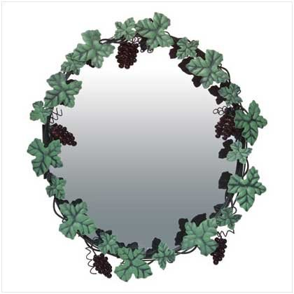 GRAPEVINE WALL MIRROR  RETAIL; $34.95