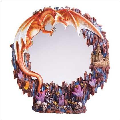 MAGICAL DRAGON MIRROR  RETAIL; $39.95