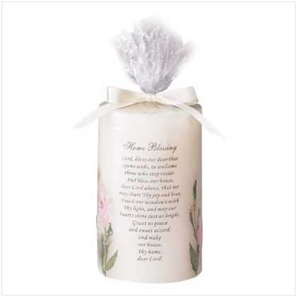 HOME BLESSING CANDLE   Retail: $9.95