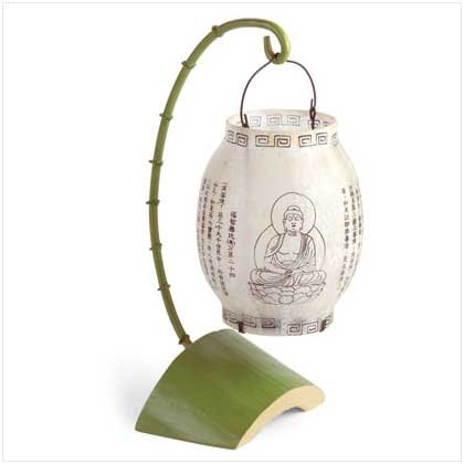 BUDDHA HANGING TABLE LANTERN  Retail: $12.95