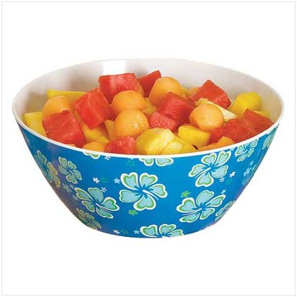 BLUE HAWAIIAN SERVING BOWL  Retail: $9.95