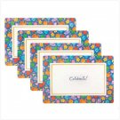 CELEBRATE! PLACEMAT SET  Retail: $5.95