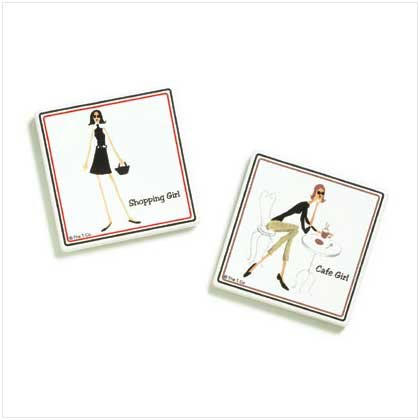 THE GIRLS MAGNETS  Retail: $5.95