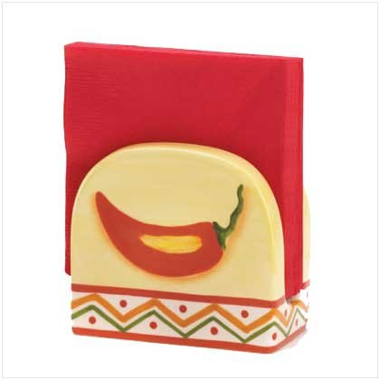 FIESTA NAPKIN HOLDER  Retail: $6.95