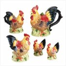 ROOSTER TEA SET  Retail: $34.95