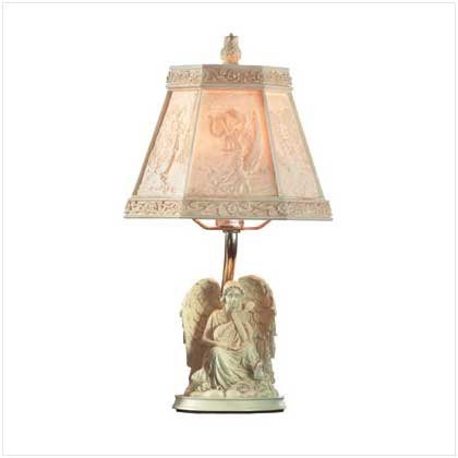 SCULPTED ANGEL LAMP Retail: $39.95