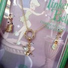 NIB Disney Couture Tinkerbell Ballerina Charms Necklace