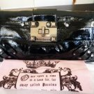 NWT Juicy Couture Studded Patent Leather Clutch Handbag