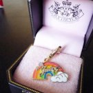NIB Juicy Couture Sparkling Stars Clouds Rainbow Charm