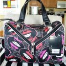 NWT L.A.M.B. Worthington Kiss Me Lips Satchel Handbag