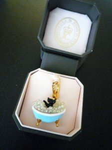 NIB Juicy Couture Scottie Dog Bubble Bath Golden Charm