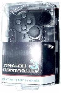 **NEW** BLACK PLAYSTATION 3 CONTROLLER PS3 CONTROL PAD